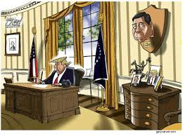 cartoon a trophy for the oval office editorial cartoons
