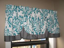 turquoise kitchen curtains trends also for windows stainless