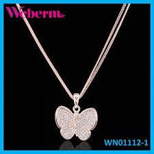 new diamond necklace images 2015 new design animal diamond pendant necklace rose gold jpg