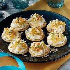 crab canapes hawaiian crab canapes recipe taste of home