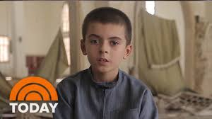 boy in propaganda claims to be 10 year american