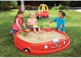 Backyard Sand Sandbox With Lid Cover Kids Baby Outdoor Play Ground Sand Pit
