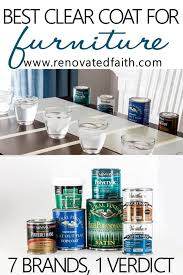 should i put a top coat on painted cabinets the best clear coat for furniture 2020 best chalk paint