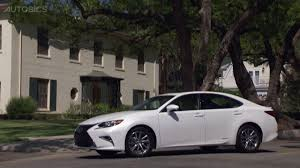 lexus es300h 2017 lexus es300h hybrid luxury sedan youtube