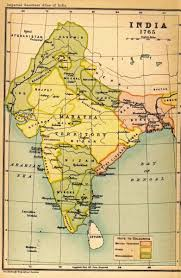 Map Of India by Map Of India In 1765