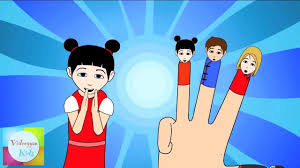 famil finger family chinese family nursery rhymes cartoon animation