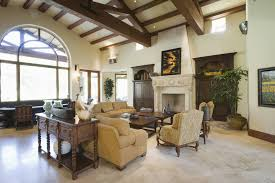 Interior Design High Ceiling Living Room 42 Living Rooms With Exposed Ceiling Beams Love Home Designs