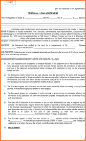 sample loan contract with collateral philippines sample loan