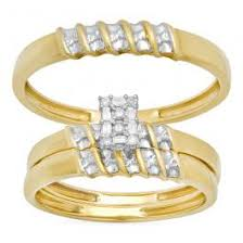 Wedding Ring Trio Sets by Trio Sets Jewelry Online Trio Sets Store