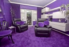 Purple Livingroom by Violet House Decoration Purple Room Design Ideas Modern Home