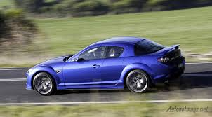 rx8 mazda rx8 blue color autonetmagz