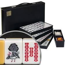 amazon black friday japan japanese riichi mahjong set with white tiles yellow mountain