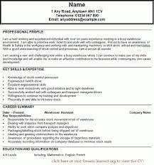 Sample Resume For Forklift Operator by Stunning Forklift Resume Examples Ideas Simple Resume Office