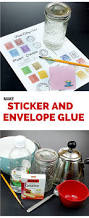 Make Your Own Envelope How To Make Envelope U0026 Sticker Glue The Graphics Fairy