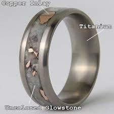 titanium engagement rings images Titanium glowstone ring unique rings patrick adair designs jpg