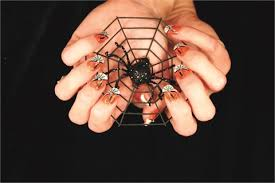make your clients scream for spook tacular halloween nail art
