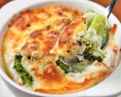 recettes cuisine recette gratin de brocolis à l emmental