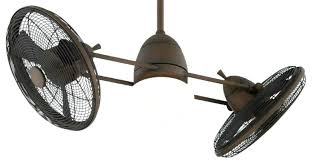 fan with retractable blades twin ceiling fan ceiling fan natural palm blades inch twin star iii