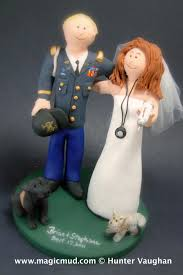 army wedding cake toppers captain infantry branch us army wedding cake topper soldier s