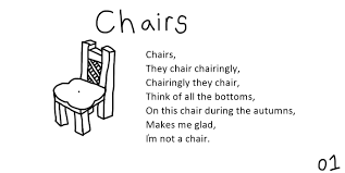 Halloween Short Poems A Collection Of Poems About Chairs Oc Album On Imgur