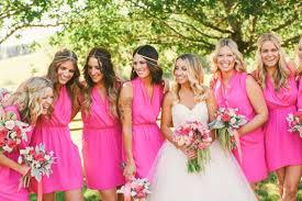 bridesmaid dresses for summer wedding pink bridesmaids inspiration pinktober pink bridesmaids