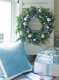 Frosty Blue Christmas Decorations by Blue And Silver Are A Classic Holiday Color Combination