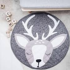 online shop 90cm round baby playmat nursery rug crawling mat