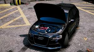 audi rs3 mods gta 5 2011 audi rs3 add on tuning mod gtainside com