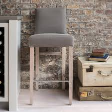 Upholstered Bar Stools With Backs Shoreditch High Back Upholstered Bar Stool Neptune Furniture