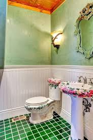Wainscot Kit Country Powder Room With Wainscoting U0026 Wall Sconce In Prescott Az