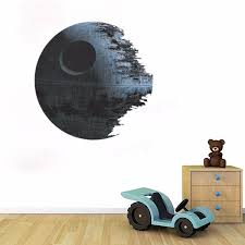 45cm removable death star wars wall stickers art vinyl decal kids 45cm removable death star wars wall stickers art vinyl decal kids bedroom home wall decoration