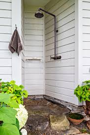 Simple Outdoor Showers - square outdoor pub with simple outdoor shower patio farmhouse and