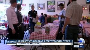 Colorado Mills Map by Businesses Helping Affected Colorado Mills Mall Employees Youtube