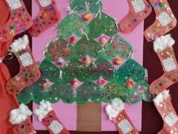 Ideas For Christmas Tree Bulletin Board by Winter Season Craft Preschoolplanet