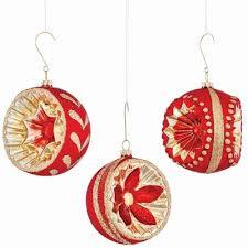 3 glass ornate shaped ornament set reviews joss