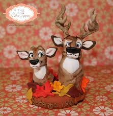 buck and doe cake topper fall buck and doe cake topper i do cake toppers