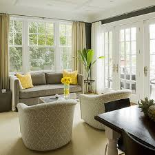 yellow chairs design ideas