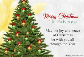 merry christmas advance 2017 images wishes quotes msg
