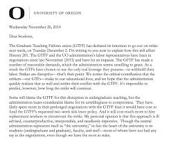 thanksgiving letter to colleagues gtfs u2013 uo matters