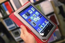 Nook Tablet Barnes And Noble Barnes U0026 Noble U0027s Sales Fall 1 8 Percent As Nook Sales Decline