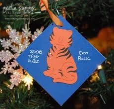 cub scout ornament gifts for his cub scout friends we