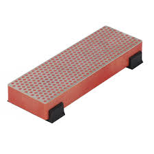 dmt 6 in diamond whetstone bench stone with rubber feet 6fine