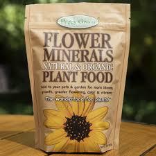 all natural flower food organic plant food i organic mineral fertilizer i peggy green organics