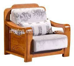 modern home living room furniture wooden single seat cushion sofa