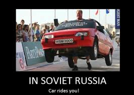 Russian Car Meme - in soviet russia meme posts you album on imgur