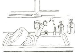 coloriage cuisine dididou coloriage la cuisine page 3