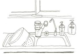 dessin evier cuisine index of coloriage cuisine cuisine