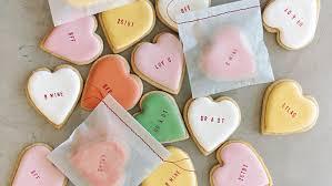 conversation hearts conversation heart cookies