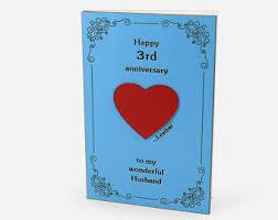 3rd year wedding anniversary gift 3rd anniversary gift 3rd wedding anniversary leather