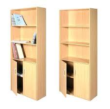 bookcase with bottom doors bookcase with solid doors design wood bookcases 7 best glass door